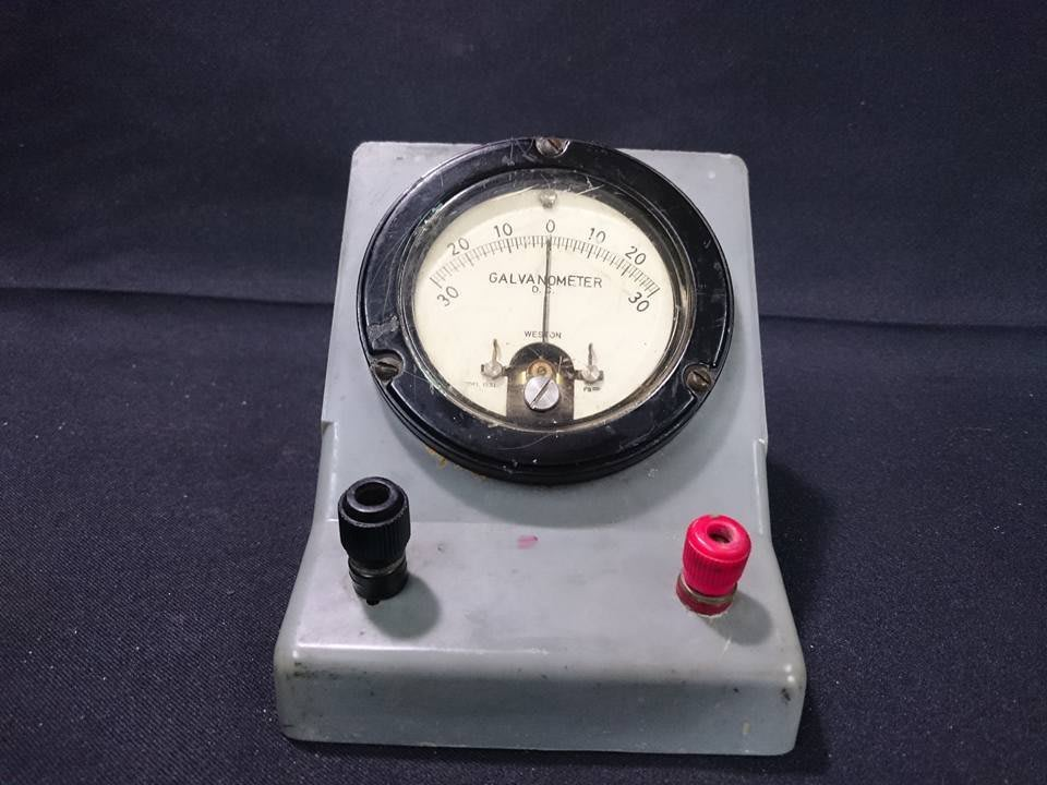 *阿柱的店* WESTON Galvanometer MODEL 1531 檢流計/安培/電錶