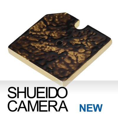集英堂写真機【全國免運】徠卡相機用 閃燈 配件接座 保護蓋 防塵 黃銅 潑墨黑 LEICA M2 M3用 H0003
