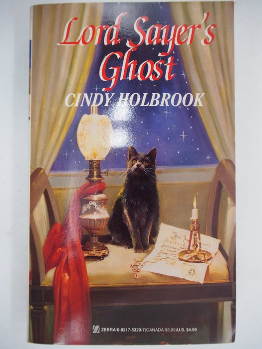 【月界二手書店】Lord Sayer's Ghost_Cindy Holbrook 〖外文小說〗CJO