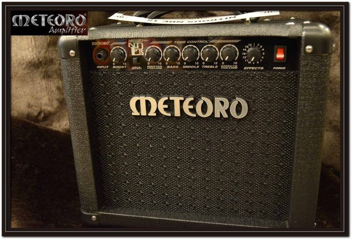 【民揚樂器】電吉他音箱METEORO Nitrous Drive NDE15