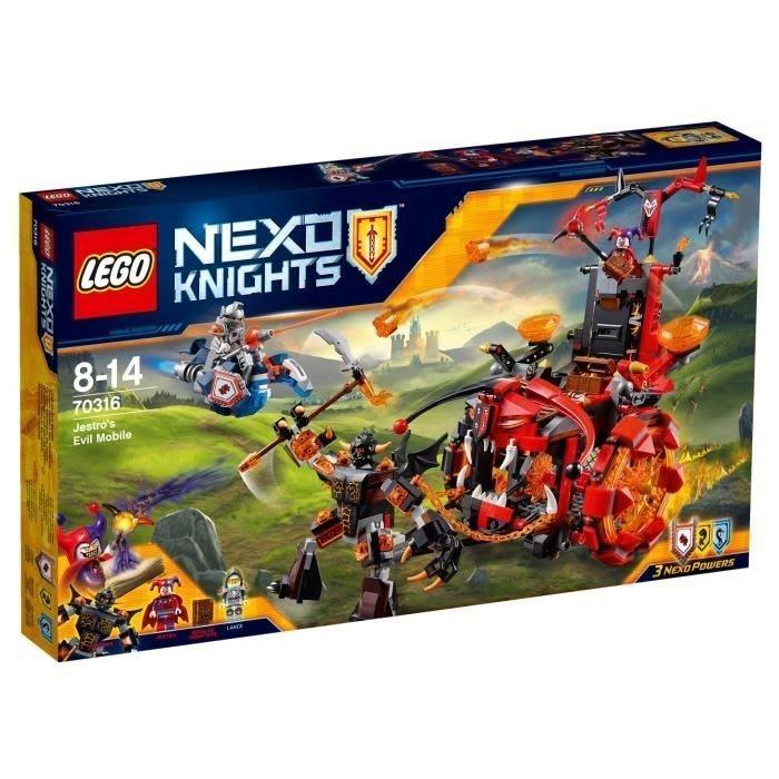 可超取【LEGO 樂高】全新正品 益智玩具 積木/ 未來騎士團:小丑的巨輪炎魔碉堡 NEXO KINGHTS 70316