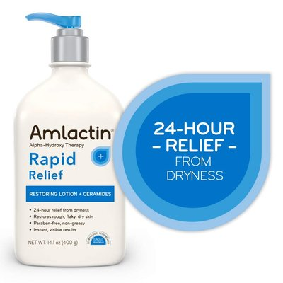 AmLactin:® Restore 400G 極其粗糙、鱗片狀(魚鱗)乾燥肌膚 修復