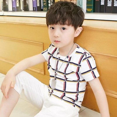 男童套裝2018新款中大童夏季韓版潮 MK1994