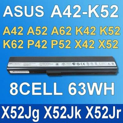 保三 8芯 ASUS A42-K52 原廠電池 X52Jg X52Jk X52Jr X52N X42Jr K52 台中市
