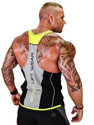 T恤 男背心 運動T恤 運動背心 肌肉健身兄弟運動背心男跑步跨欄健美訓練服無袖工字彈力透氣速干
