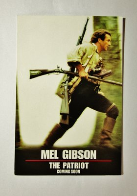 珍貴絕版2000年米路吉遜荷里活動作戰爭電影《孤軍雄心》優先場門券1張