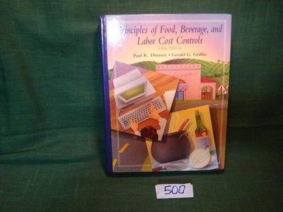 【愛悅二手書坊 08-46】Principles Food, Beverage, and Labor Cost Controls