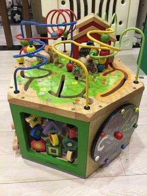 【BABY House高雄旗艦店】出租 美國Parents 木製 益智玩具 感統玩具