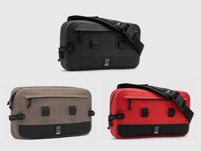 { POISON } CHROME URBAN EX 10L SLING BAG 單肩隨身腰包 都會型態 簡約強固