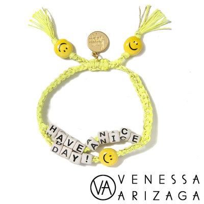 Venessa Arizaga HAVE A NICE DAY BRACELET 笑臉手鍊 黃色手鍊