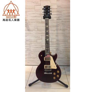 【名人樂器全館免運】2017 Gibson Les Paul Studio T - Wine Red 電吉他 現貨 附盒