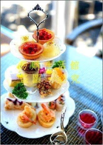 [王哥廠家直销]蛋糕架 點心盤 點心架 碟子 盤子 雙層 三層 水果架 蛋糕盤 水果盤 咖啡 下午茶 花茶LeGou_25
