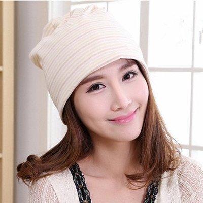 快速出貨 彩棉月子帽產後產婦帽子春秋冬保暖孕婦帽坐月子用品雙層棉質春夏