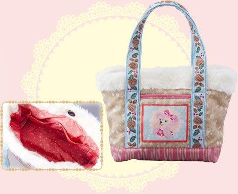 尼德斯Nydus~* 東京迪士尼海洋 達菲 雪莉梅 雪莉玫 ShellieMay 聖誕節 冬季限定包 20x32cm