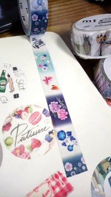 【R的雜貨舖】紙膠帶分裝 日本mt 和紙膠帶 EX 浴衣花柄