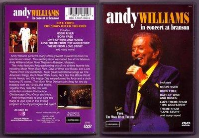 音樂居士#安迪威廉斯 Andy Williams - In Concert at Branson () DVD