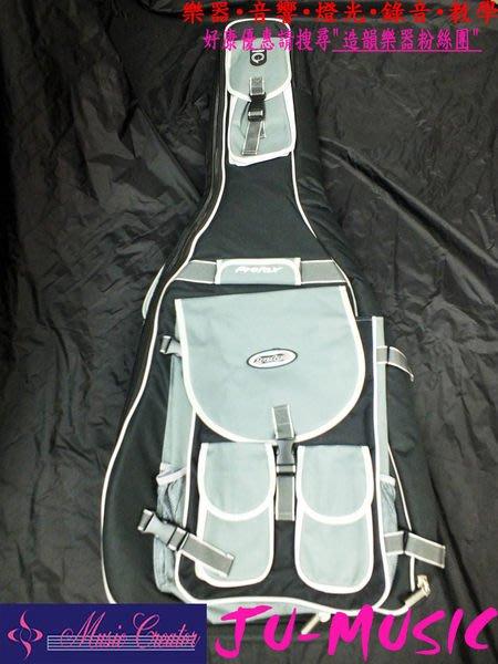 造韻樂器音響- JU-MUSIC - Prefox 民謠吉他 厚袋 內鋪厚棉側身11公分 另有 電吉他 電貝斯