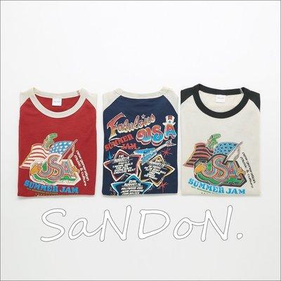 SaNDoN x MOUSSY 夏季入荷 搖滾雙面圖案美式風格配色街頭塗鴉印花短TEE SLY MURUA 170617