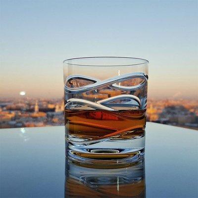 【蓮花堂】德國進口酒杯SHTOX透明水晶玻璃炫風杯紅點設計獎旋轉威士忌酒杯