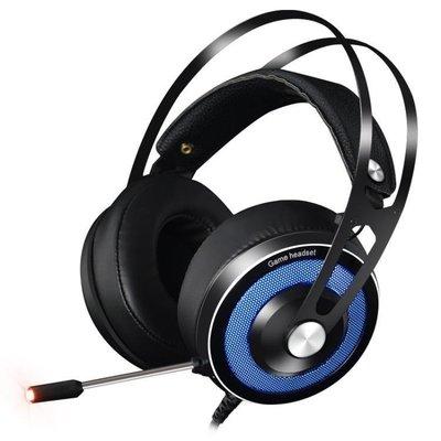 哆啦本鋪 頭戴式7.1聲道耳機吃雞電腦游戲重低音電競降噪臺式筆記本網吧USB絕地求生音樂耳麥 D655