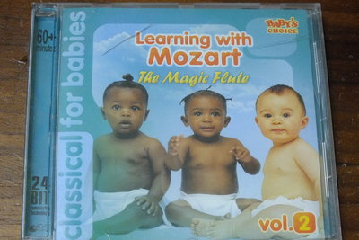 Learning with Mozart the Magic Flute vol.2-上蓋有裂痕