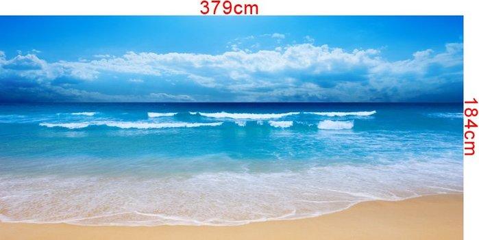 客製化壁貼(下標區) 店面保障 編號F-079 沙灘海景 壁紙 牆貼 牆紙 壁畫 星瑞 shing ruei