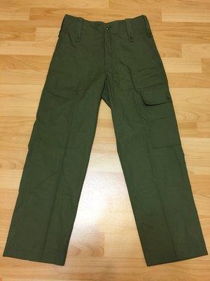 UK 英國軍用二手 野戰長褲 ARMY 28 29 左側口袋版本 Orslow Sugar Cane OG-107 英軍