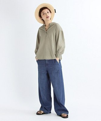 Studio Clip 夏 渡假海島風  亞麻襯衫 (現貨款特價)