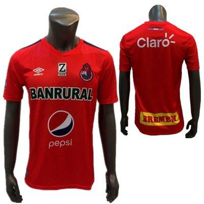 冷門足球U記危地馬拉 CSD Municipal 都市隊球衣足球服短袖比賽服