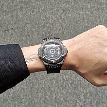 手錶網紅大爆炸新款手表男個性大表盤學生潮流夜光男士時尚橡膠帶男表