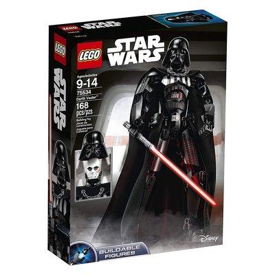 【樂GO】 LEGO 樂高 75534 星際大戰 達斯維德 黑武士 原廠正版 桃園市