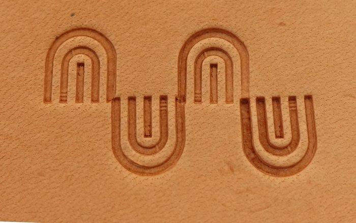 老約翰 鋼製 印花工具 精緻手工鑄造  皮雕工具  皮革工具
