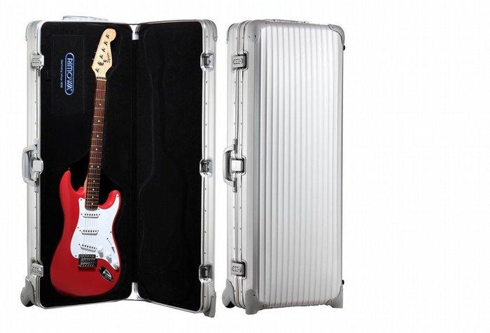 RIMOWA Guitar case限量款吉他箱 已停產 可代改成槍箱 送禮自用兩相宜 藝人御用 收藏