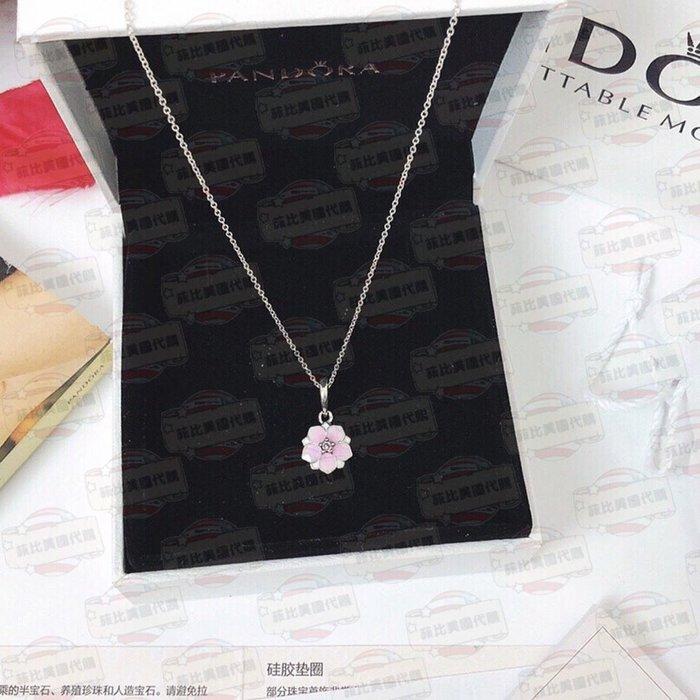 【菲比代購&歐美精品代購專家】2018年新品 Pandora 潘朵拉 最熱銷 雛菊 花朵 項鍊 促銷價