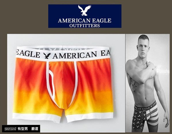 有型男~ AE American Eagle VS CK內褲 Underwear 滿版漸層XS S M L XL 貝克漢