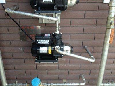 【全新品 含安裝】木川 超靜音 電子穩壓 水壓機 加壓機 加壓馬達 東元馬達 1/2HP KQ400 N
