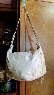RABEANCO 米白色 大型斜背包 【真品】