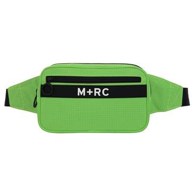 開季最新 M+RC NOIR Canal Street Bag 經典logo腰包 斜背包 螢光綠 現貨【BoXhit】