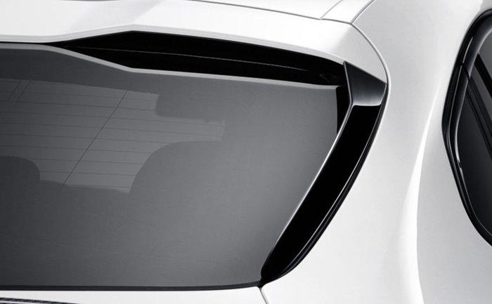 【樂駒】BMW G02 F98 M Performance 原廠 後檔側翼 高亮黑 改裝套件 空力