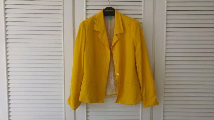 愛格納AIGNER檸檬黃西裝上衣 原價$35800