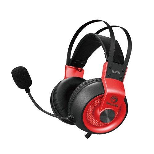 *硬派精璽* Marvo魔蠍HG9035耳罩式耳機麥克風鐵灰色000308000025