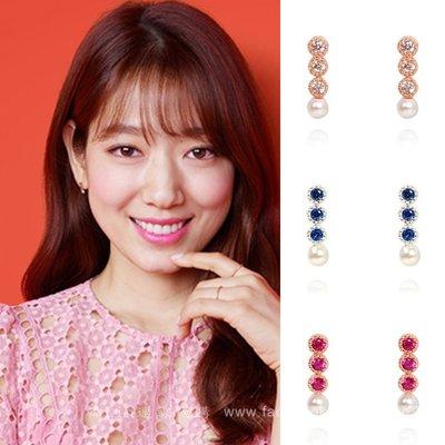 【韓Lin連線代購】韓國 GET ME BLIN - 朴信惠明星同款抗敏925銀耳環 BLING DOT