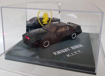絕版霹靂遊俠李麥克夥計knight rider霹靂車KITT 1:43 1/43金屬仿真模型