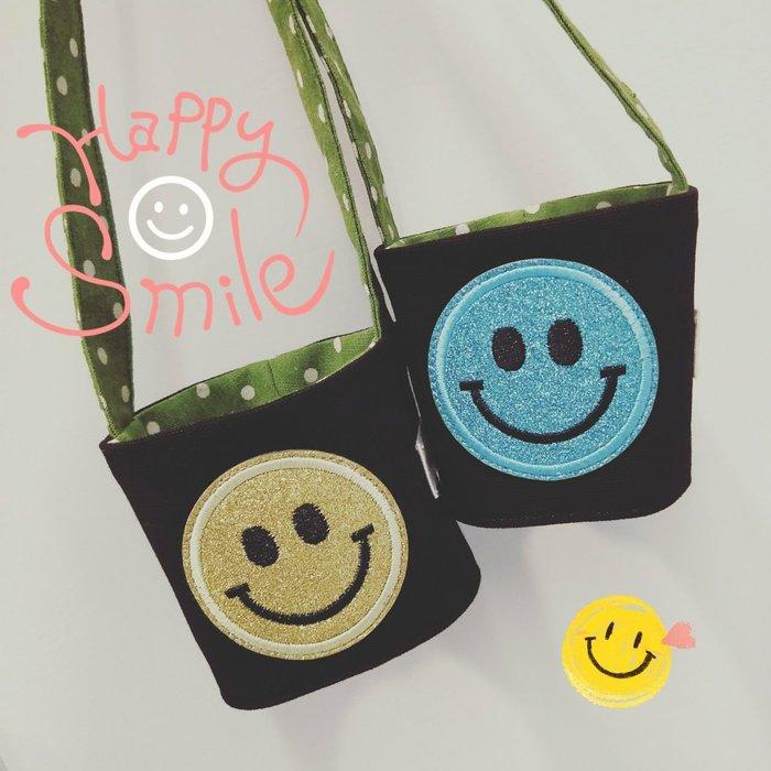 米咕手作 △ 環保飲料提袋 杯套 |笑臉 微笑|現貨
