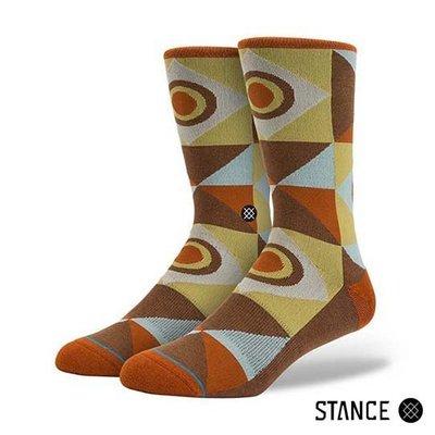 [ Satisfaction ] 美國品牌Stance襪子  紳士復古幾何圖形