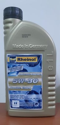 〝機油便利站〞【Swd】Rheinol 德國萊茵 『奈米雙酯類』5W30/5W-30 頂級合成機油