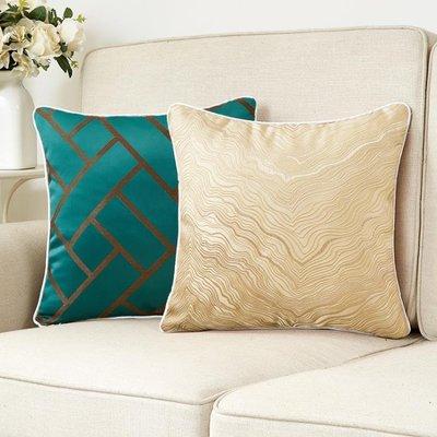靠墊輕奢簡約現代歐式抱枕沙發臥室客廳床...