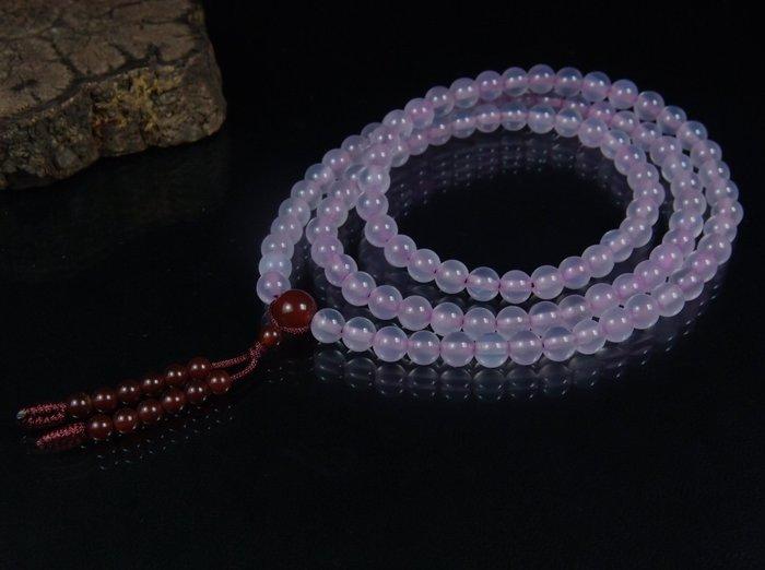 藏珠物流中心 **粉紫玉瓍**108念珠**6mm**C388