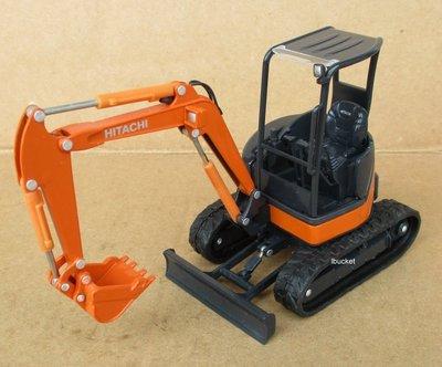 絕版品 HITACHI ZX-35 1/30 怪手挖土機模型---9成新
