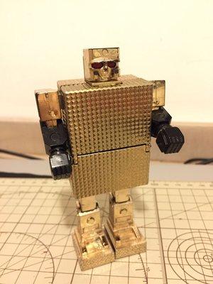 Popy 超合金 黃金戰士 日本初版(盒及其他為復制品)